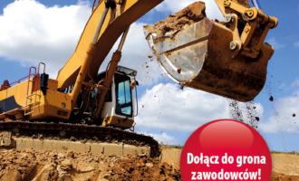Październikowe  kursy operatorów maszyn drogowych-budowlanych-ziemnych